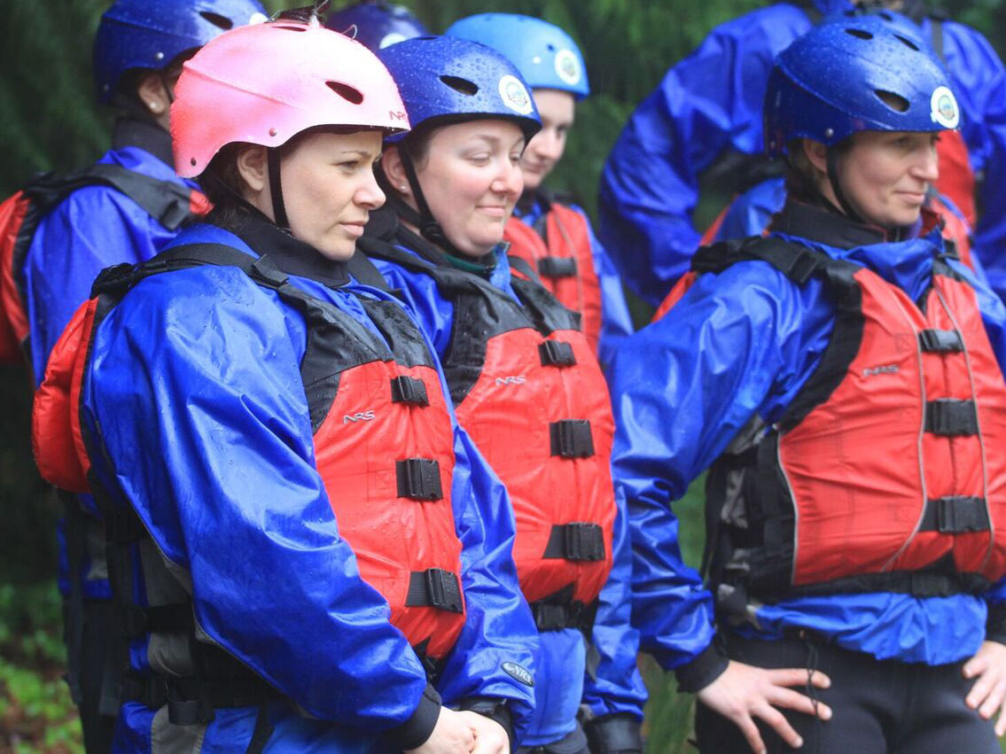 Squamish river rafting orientation