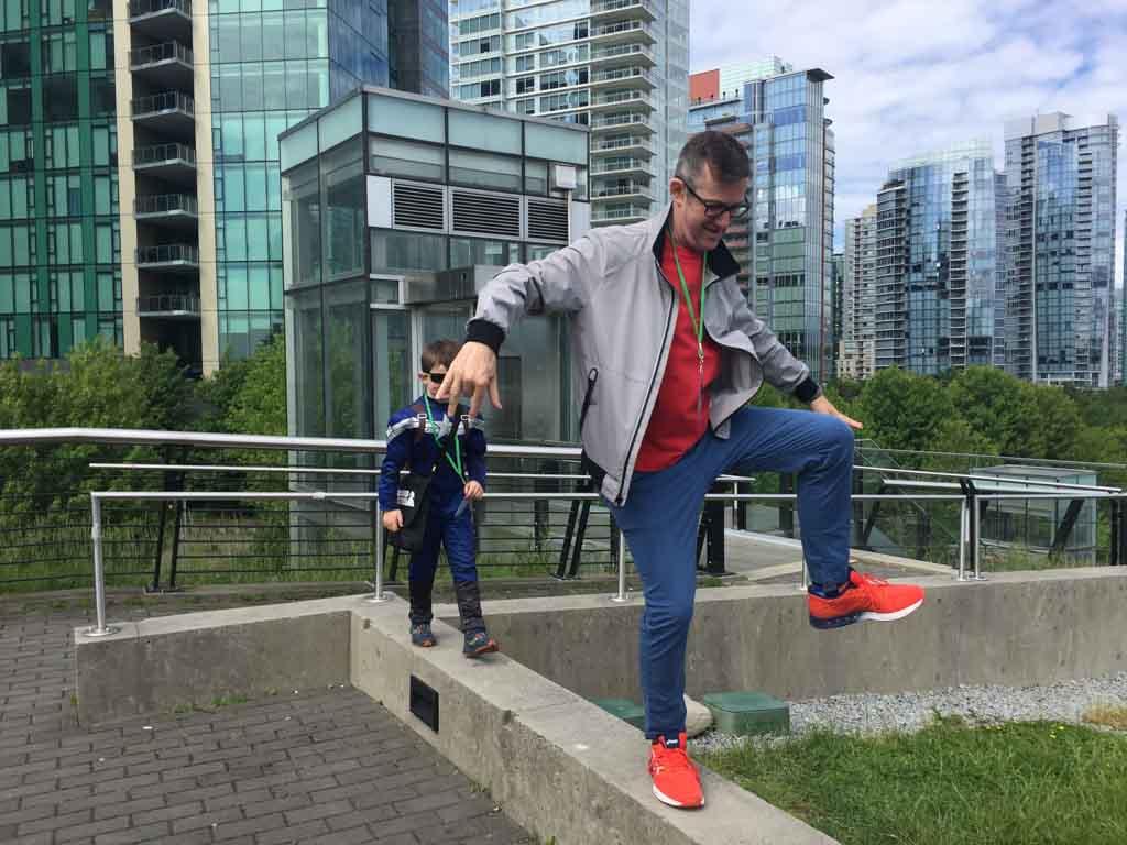 family-enjoying-downtown-vancouver