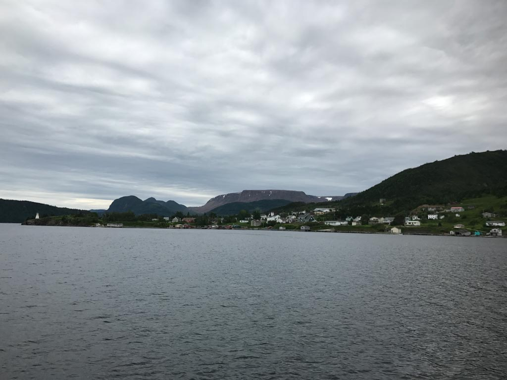 Bonne Bay as seen from the Gros Morne Boat Tours