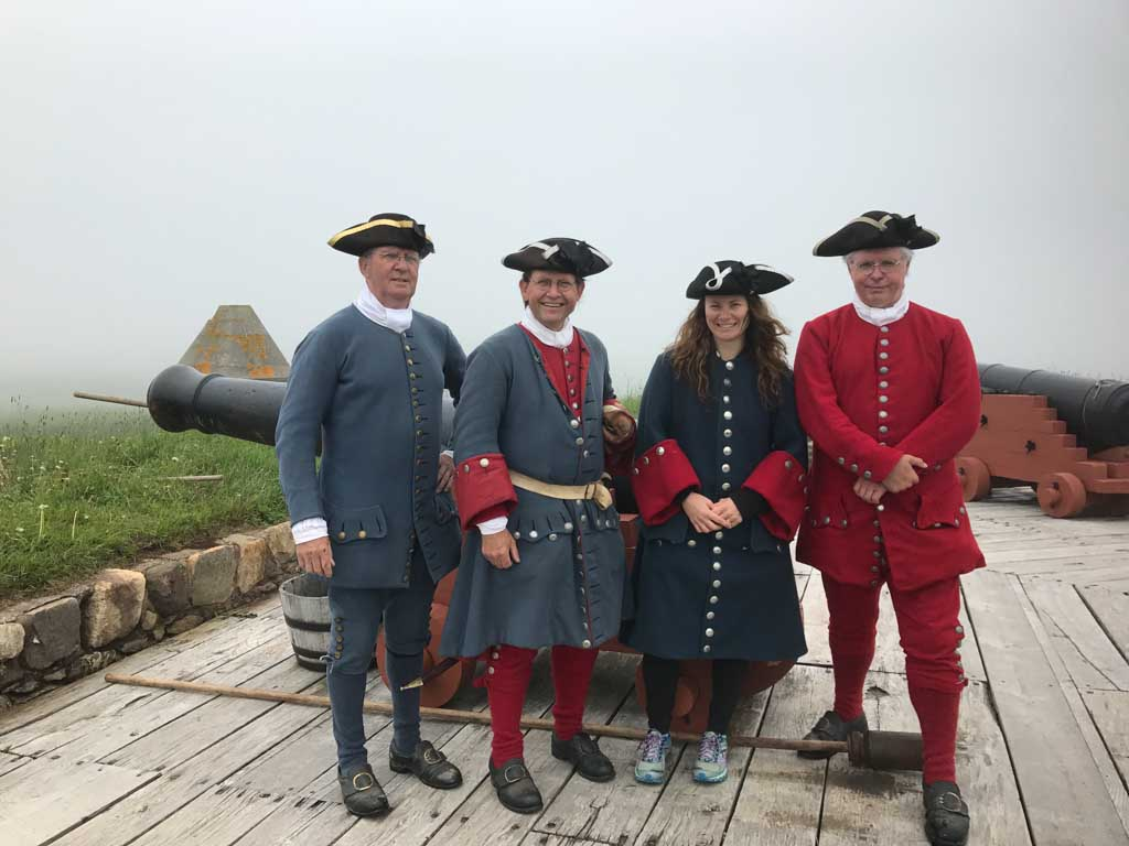 group-standing-at-fortress-of-louisbourg