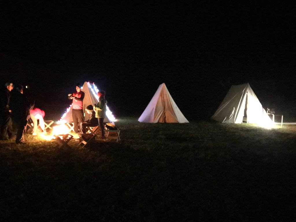 campfire-in-fortress-of-louisbourg