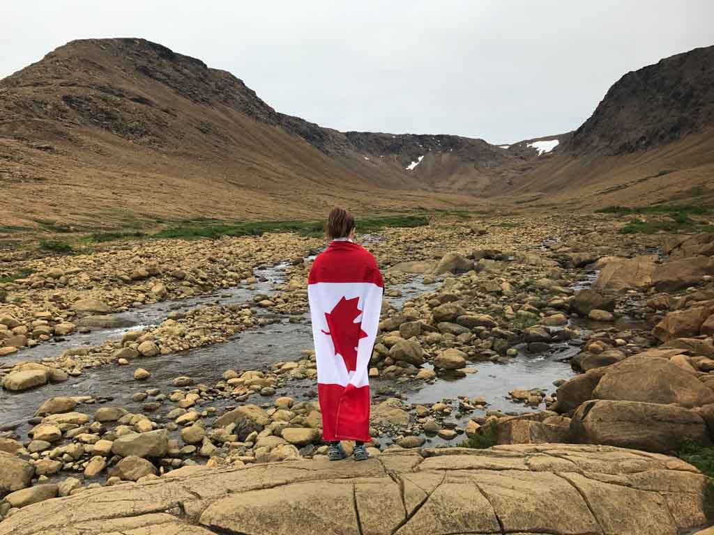 Tablelands in Gros Morne from our east coast Canada road trip