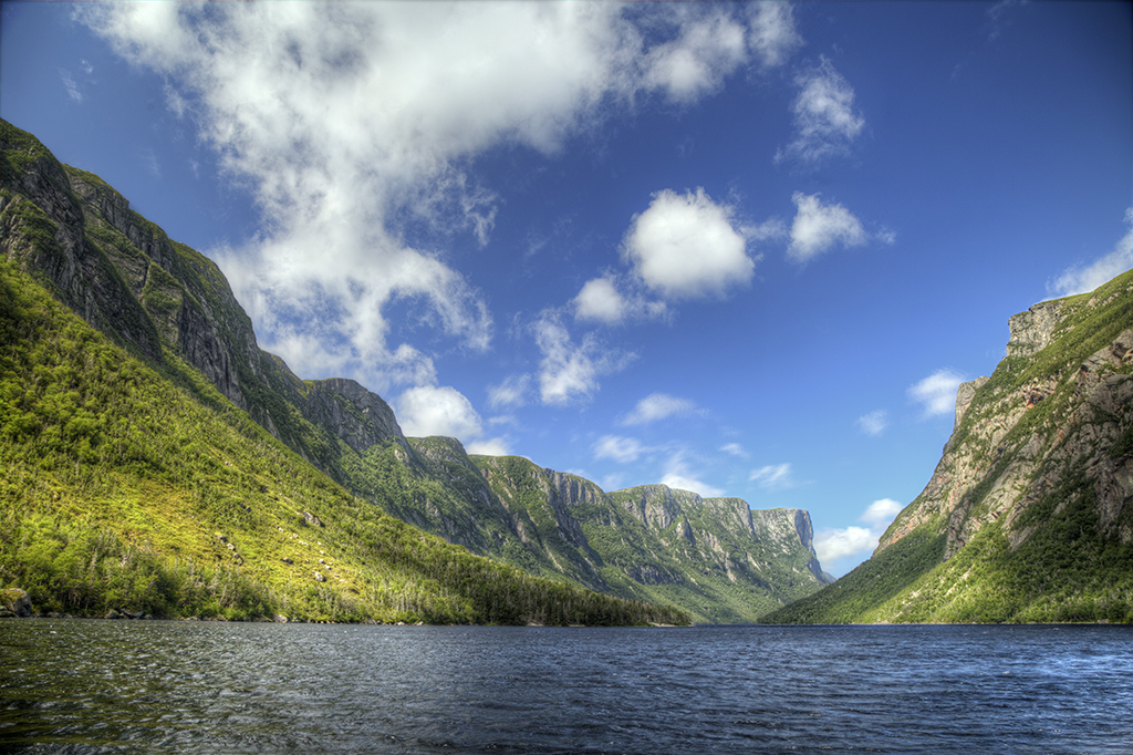 Gros Morne national park from our east coast Canada road trip