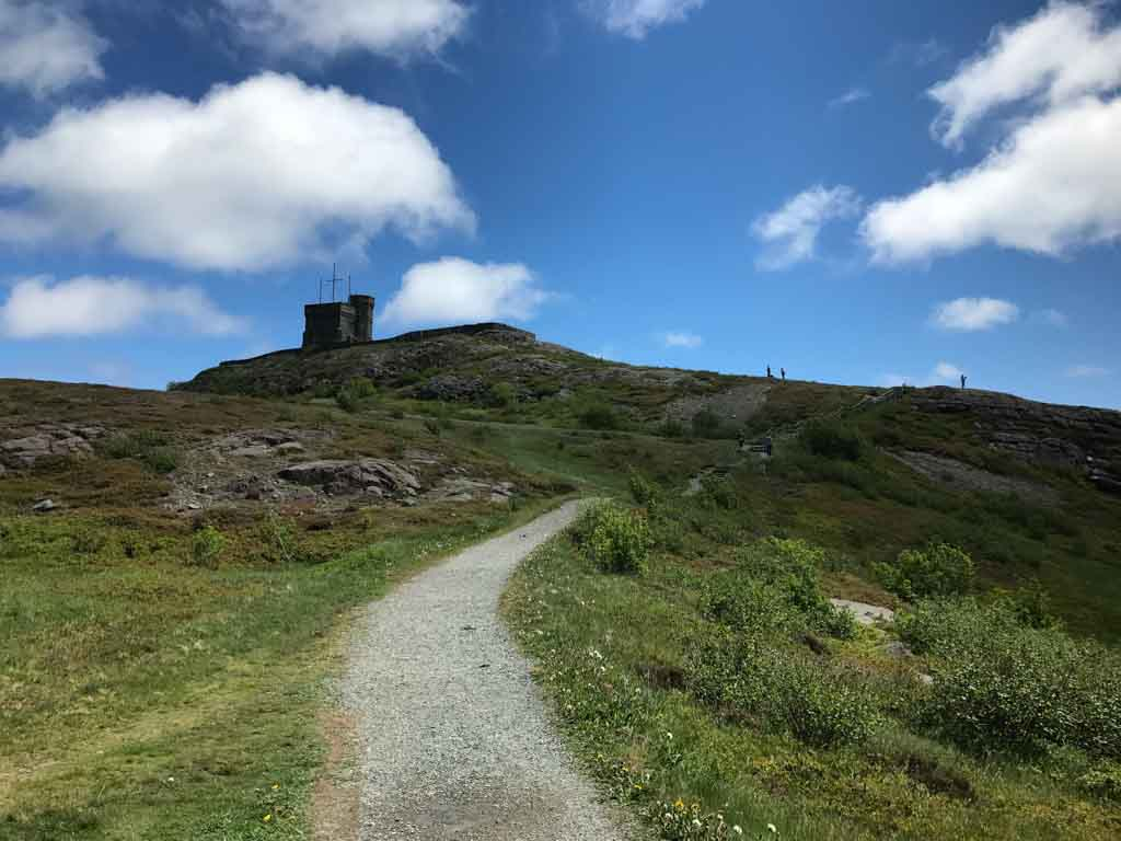 Trail at Signal Hill National Historic Site