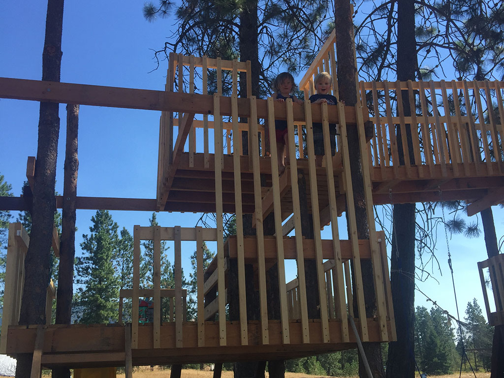 Home Made Tree House