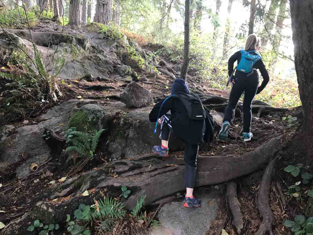 Kids hiking using our how to have a successful family hiking trip tips