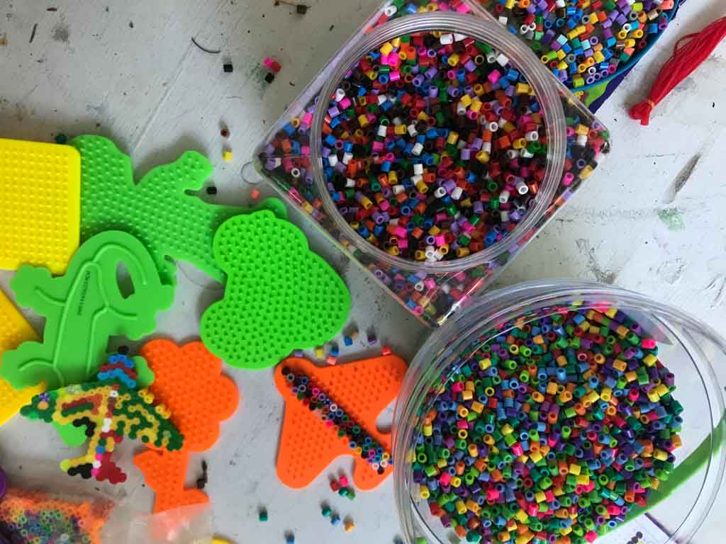 Perler beads for the best outdoor gifts for kids