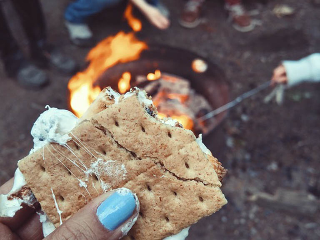 Smores kit for best outdoor gifts for kids