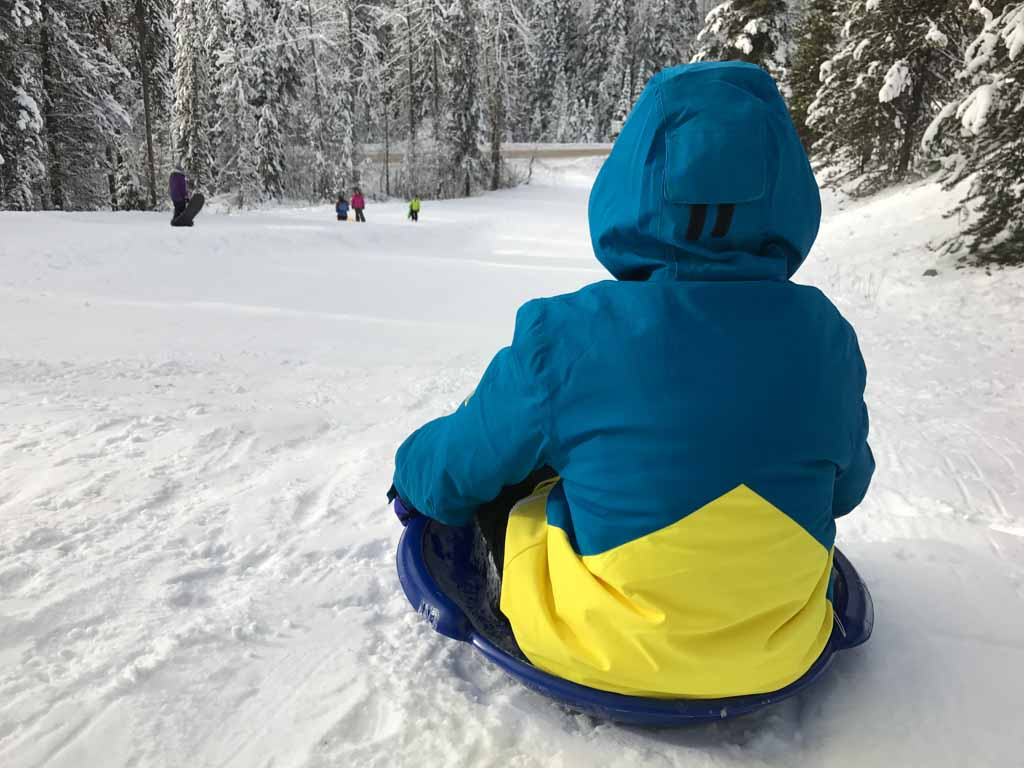 sledding-at-manning-park-resort