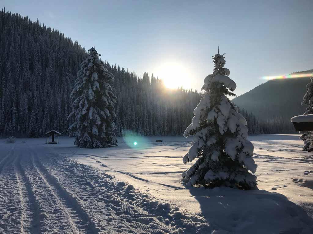 snowy-trees-surrounding-lightning-lake