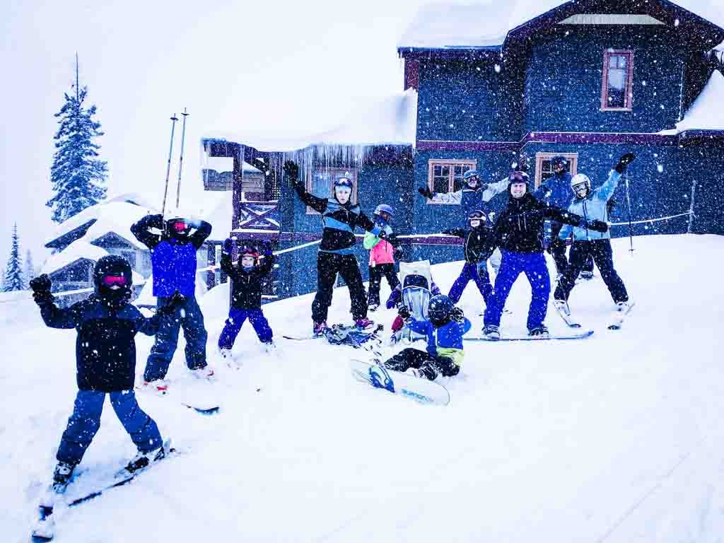 Big White family ski trip