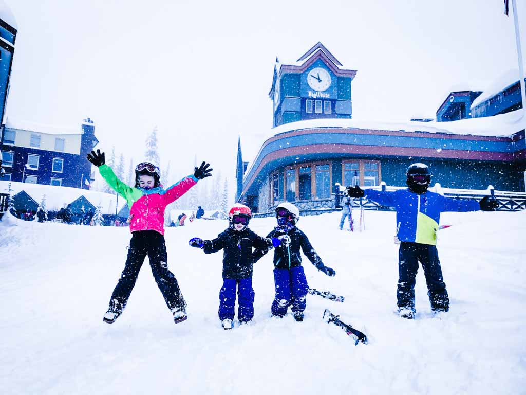 Big White family ski vacation