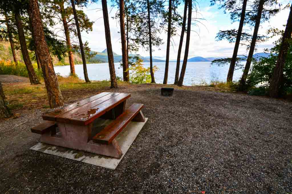 Best Campsites for New Campers in BC