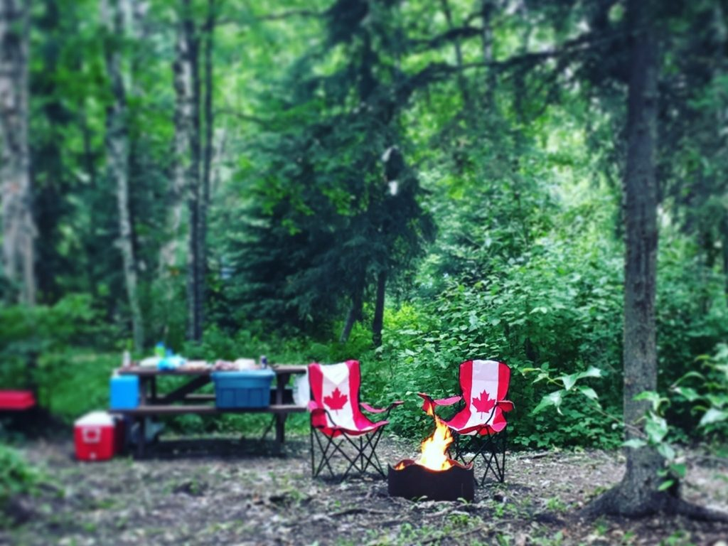 camping-for-canada-day