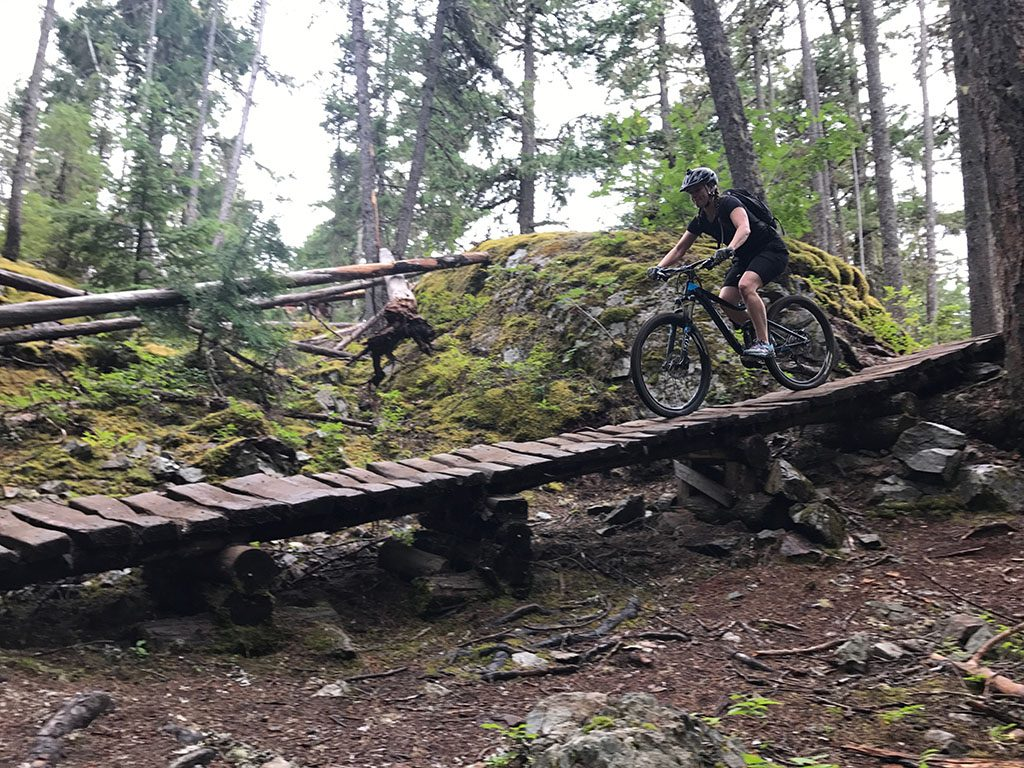 Jami Savage Mountain Biking