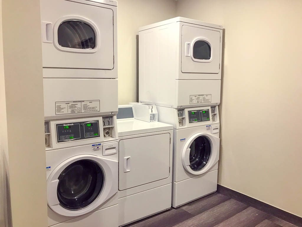 Laundry machines in Microtel by Wyndham Ladysmith