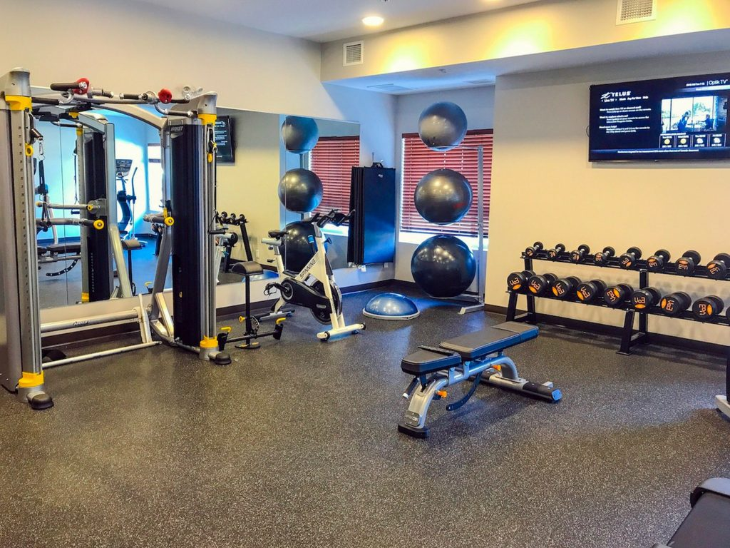 Gym in Microtel by Wyndham Ladysmith
