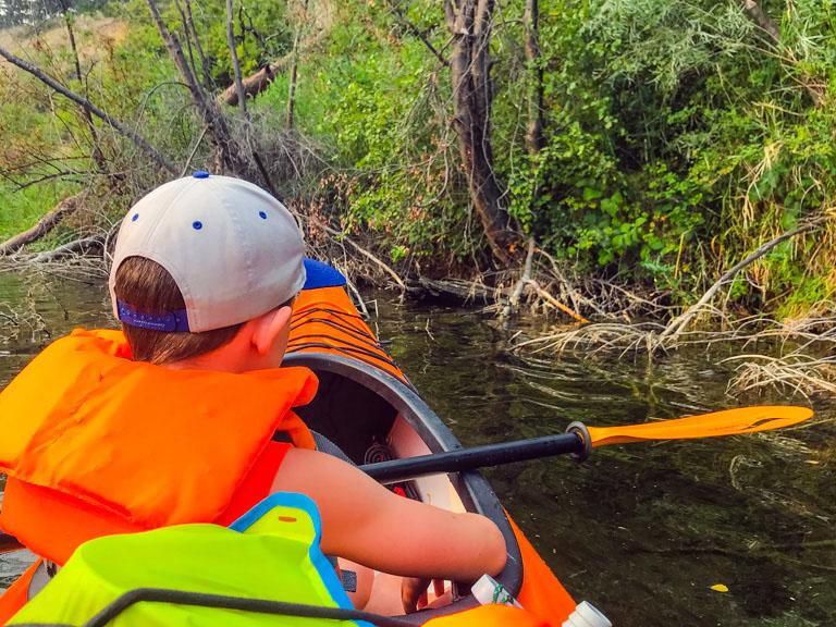 kayaker-exploring-sinkhole