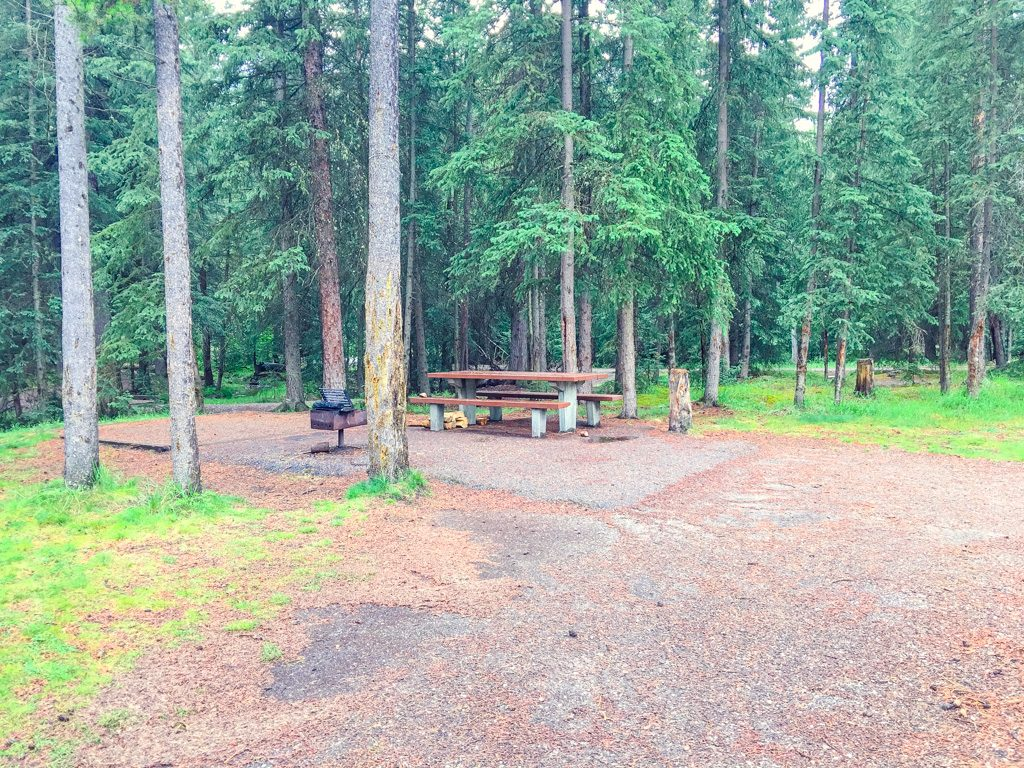 campsite-in-whistlers-campground-jasper