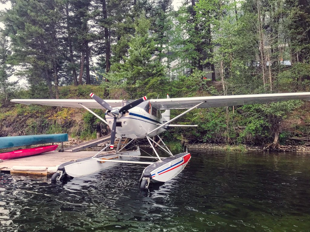 Floatplane on Heffley Lake