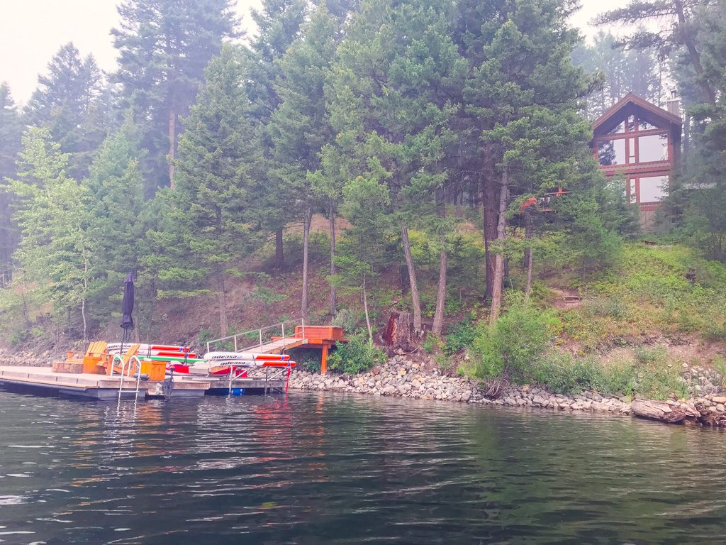 cabin-on-heffley-lake