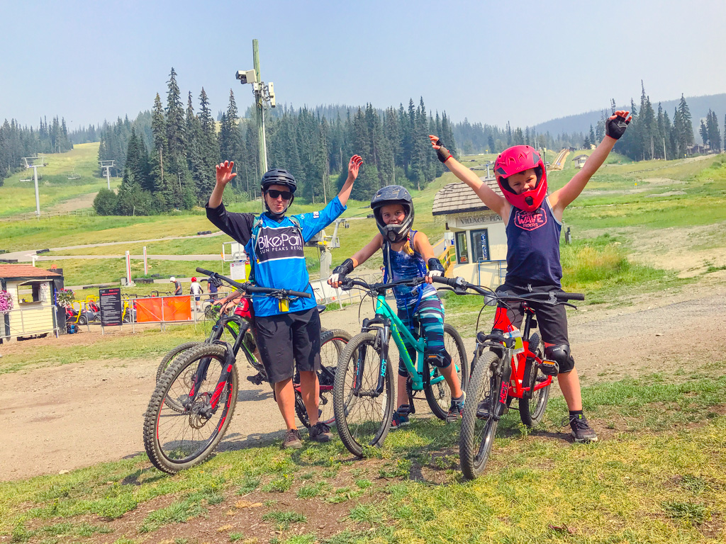 Sun-Peaks-Mountain Biking-Lessons