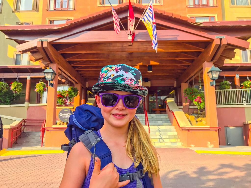 Sun-Peaks-girl-infront-of-resort