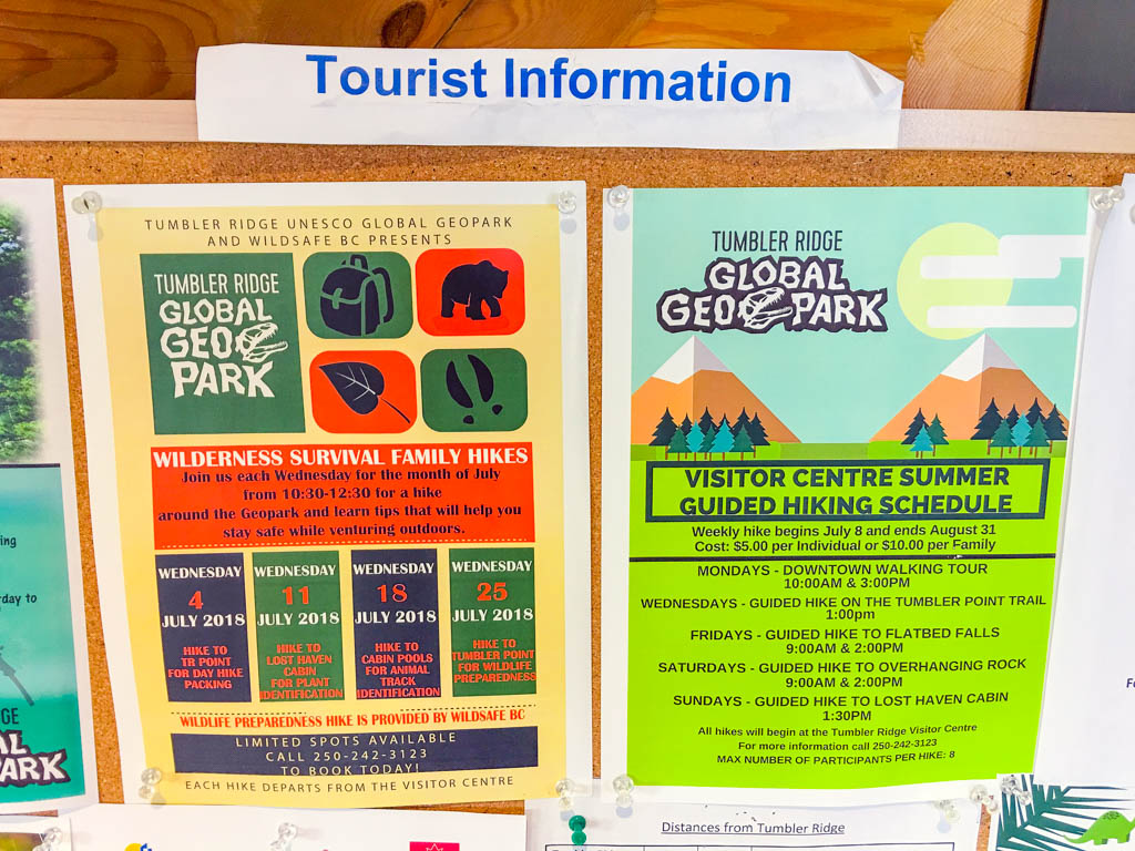 tumbler-ridge-tourist-information-sign