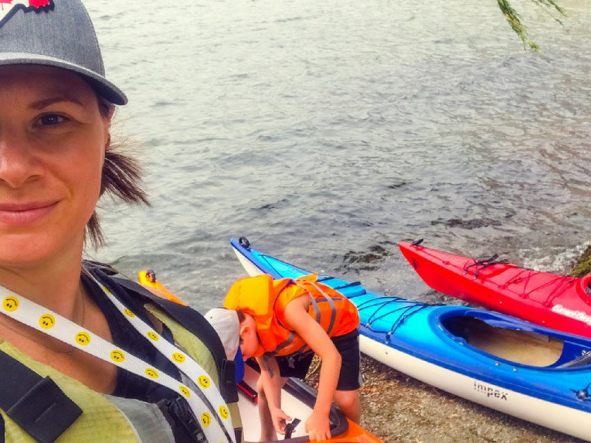 woman-and-son-kayak