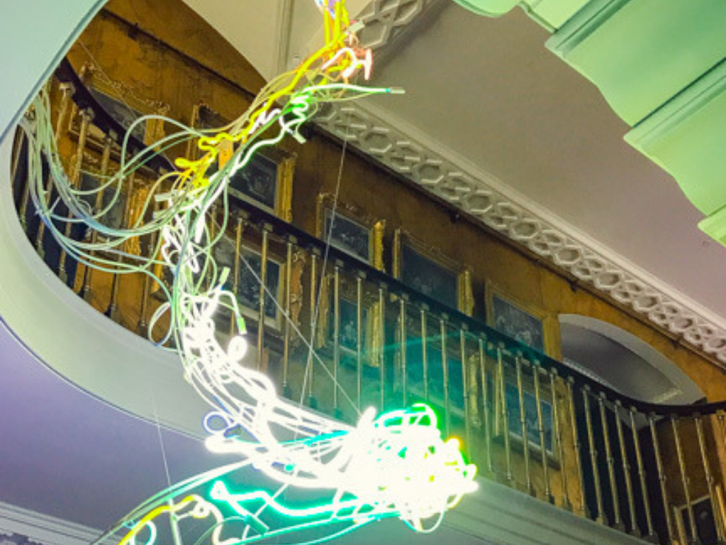neon-chandelier-in-argory-house