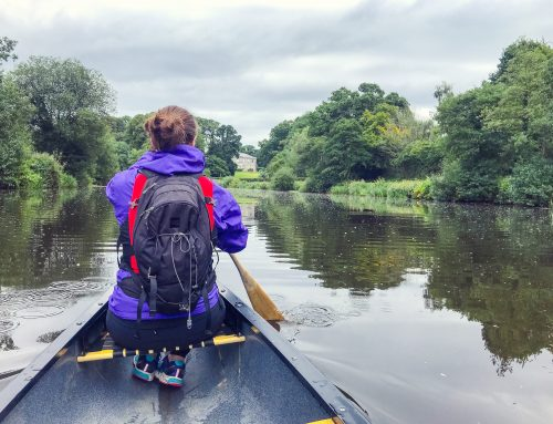 Canoeing Northern Ireland on the River Blackwater