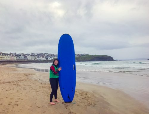 Surfing the Causeway Coast in Northern Ireland