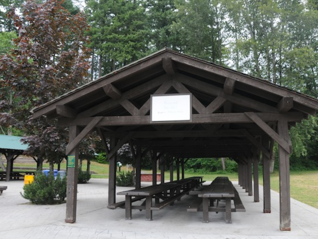 covered shelter at belcarra regional park