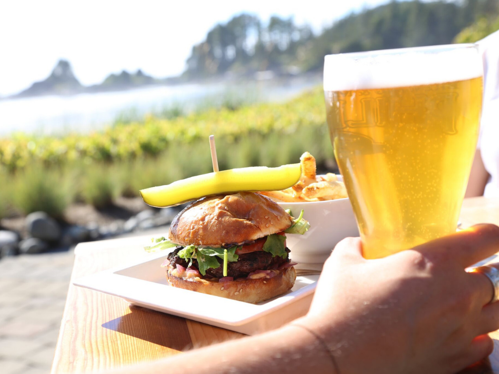 burger-and-beer-at-sandbar-bistro