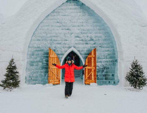 Step Into The Magic at Hôtel de Glace