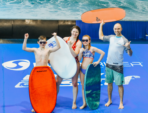 Celebrate, Play and Catch a Wave at Laval Indoor Surfing