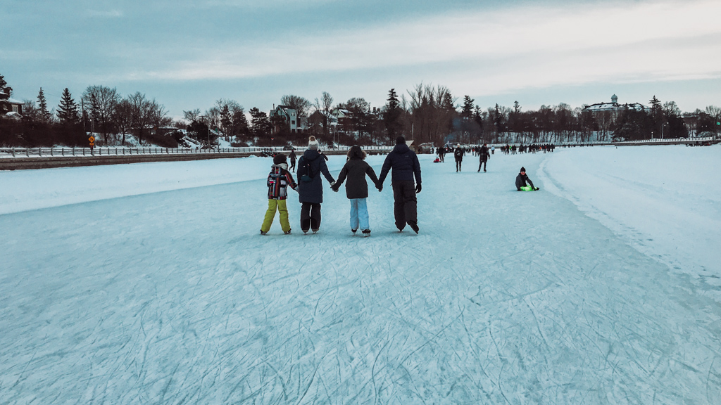 family bucket list adventure is rideau canal skating