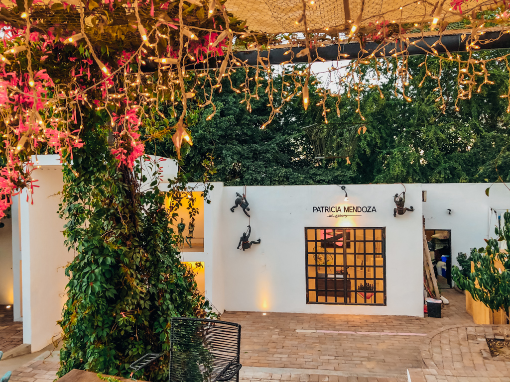 patricia mendoza gallery on the San Jose Del Cabo Walking Tour