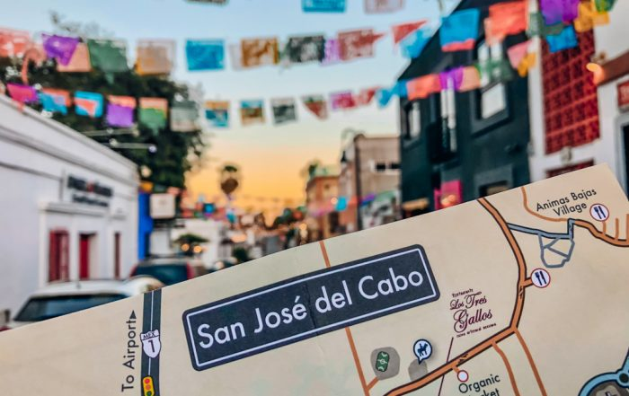 map of San Jose Del Cabo Walking Tour