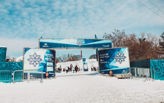 front entrance gates to winterlude guide