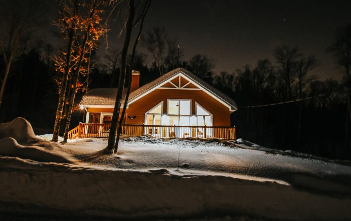 Cabin at chalets lanaudiere