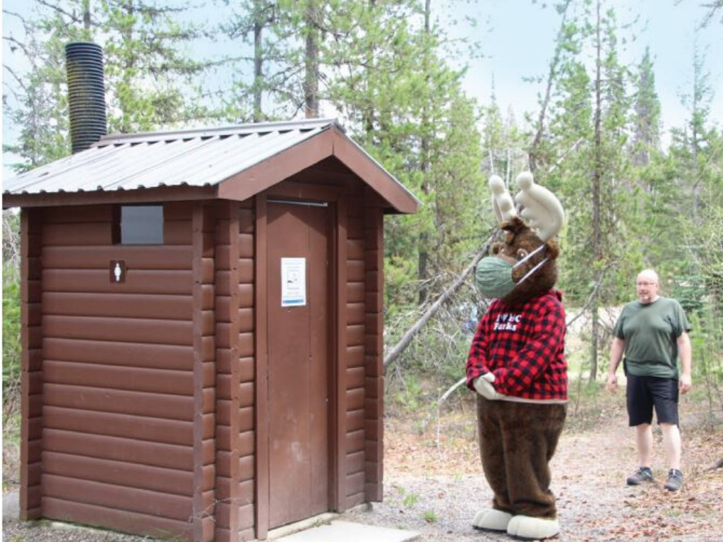 Moose mascot Staying safe with our Top 10 Camping Tips for 2020
