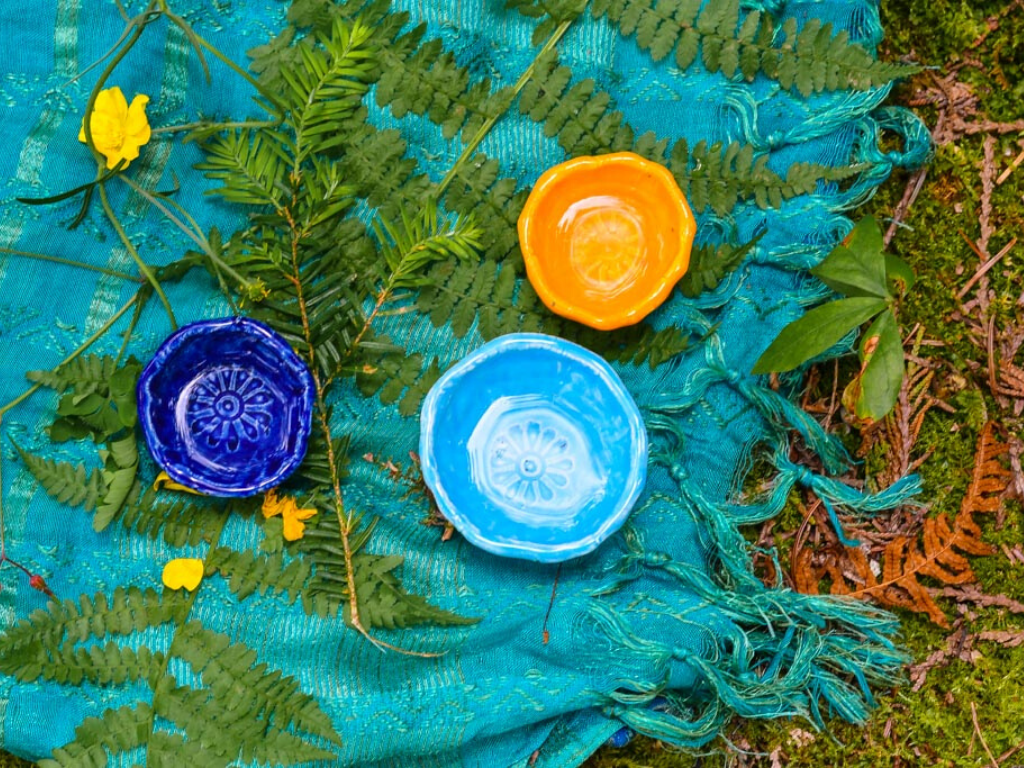 Handmade teacups
