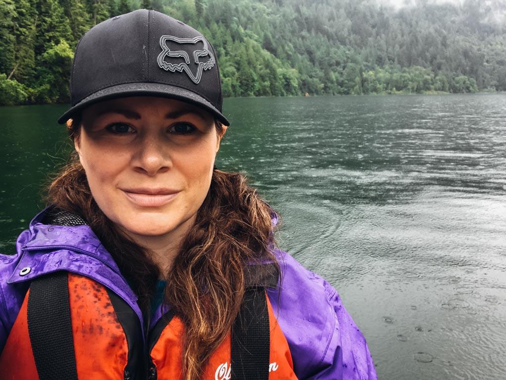 Jami Savage on her Harrison Lake kayaking adventure