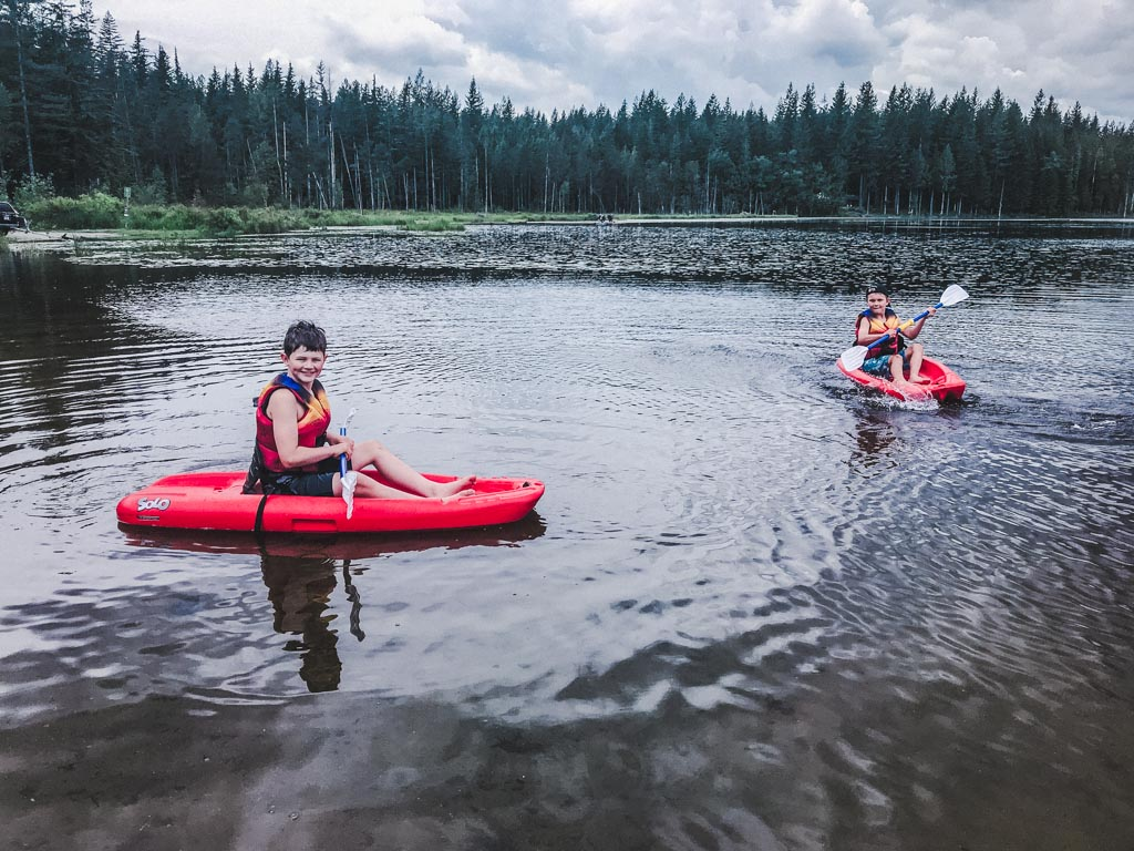 kayaking for Social Distanced Playdates