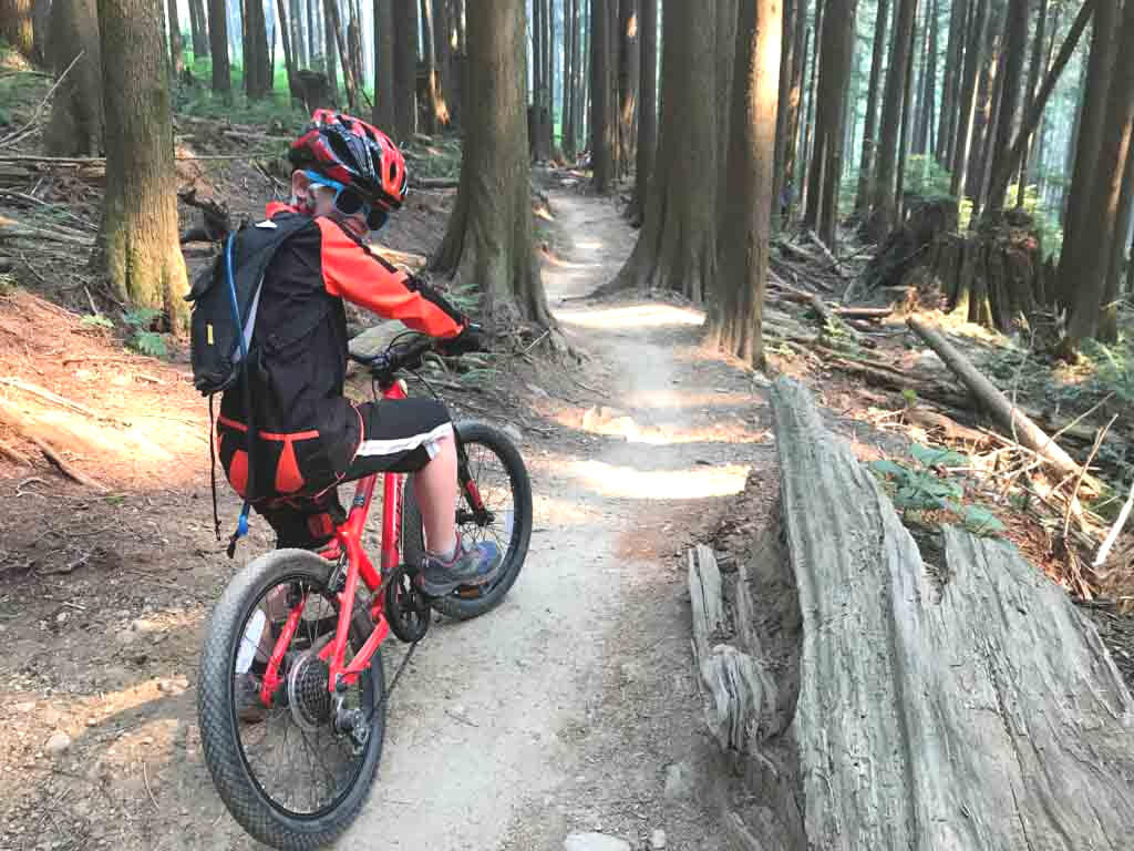 Aldergrove regional park for places to bike in the GVRD with your kids