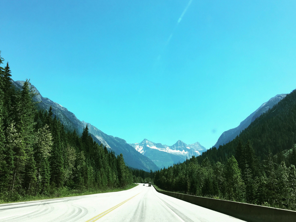 Visiting BC by road trip