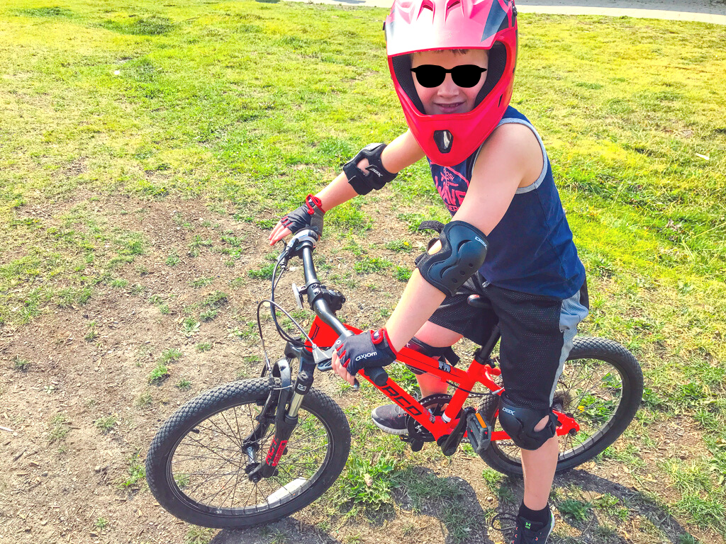 pitt river regional greenway for places to bike in the GVRD with your kids